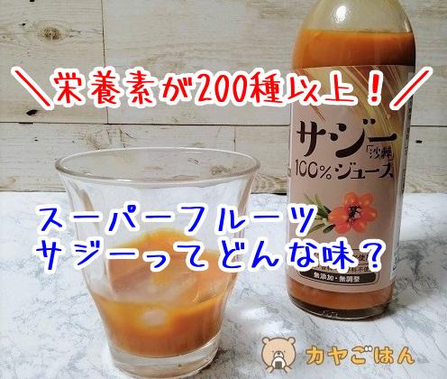 マツモトキヨシのサジージュースの口コミ